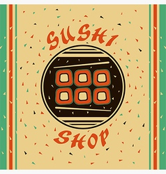 Sushi shop vector