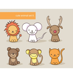 Animal set 2 vector