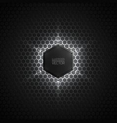 Abstract 3d dark background vector