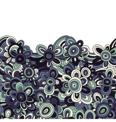 floral pattern For easy making seamless vector image vector image