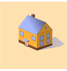 modern home vector image