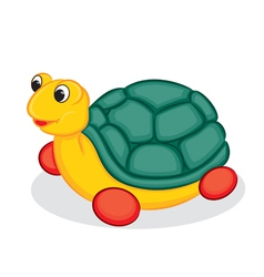 Turtle toy vector