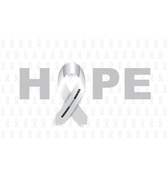 Parkinsons disease ribbon vector