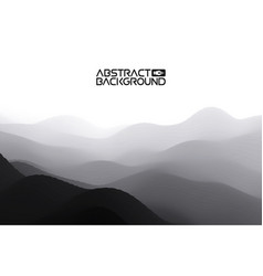 3d landscape abstract grey background gradient vector image vector image