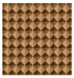 Abstract background brown geometric shapes vector