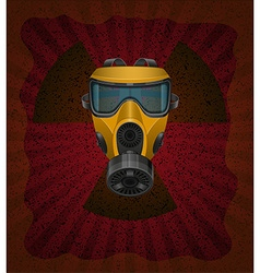 Gas mask concept 02 vector