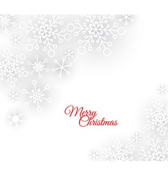 white abstract Christmas background vector image vector image