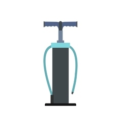 Hand pump flat icon vector image