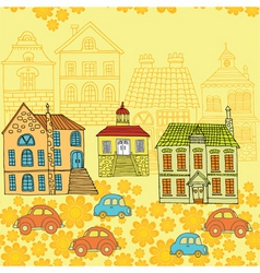neighbourhood pattern vector image vector image