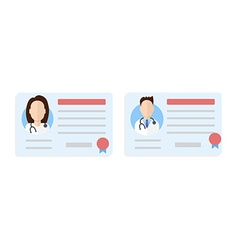 License doctor set vector
