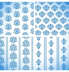 Ornament Patterns vector image