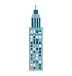 building urban skyscraper vector image