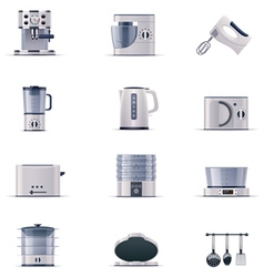 Part two of domestic appliances set vector image vector image