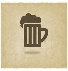 pint old background vector image vector image