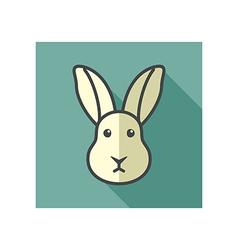 Rabbit icon Farm animal vector image vector image