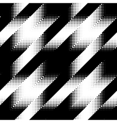 Seamless Hounds-tooth pattern vector image