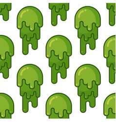 snot seamless pattern snivel ornament booger vector image