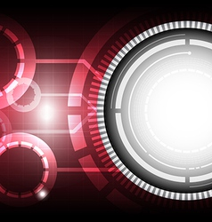 technology concept background vector image