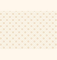 Beige abstract seamless geometric pattern vector