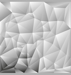abstract polygon background grayscale vector image