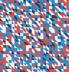 geometric abstract backgrounds retro vector image vector image