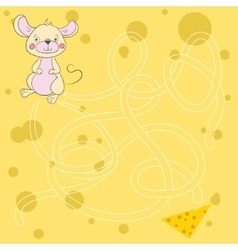 Layout for game labyrinth find a way mouse vector