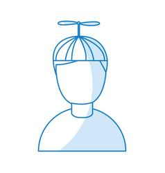 Little boy avatar character vector