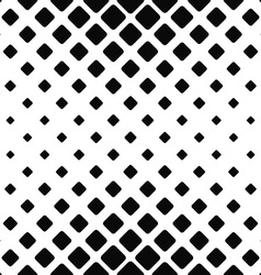 Monochromatic seamless square pattern vector image vector image