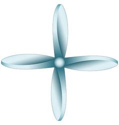 Propeller vector image