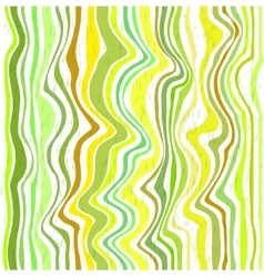 Abstract green stripes vector image
