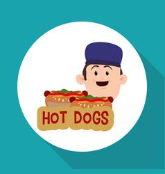 Fast food design menu icon white background vector