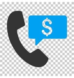 Phone order icon vector