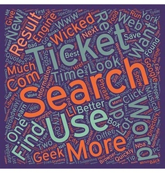 Search like a geek text background wordcloud vector