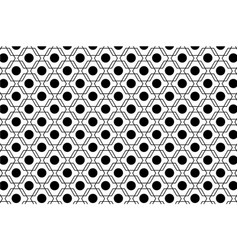 Black and white abstract seamless geometric vector