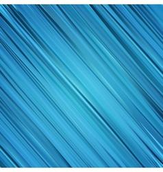 Blue stripes background vector image