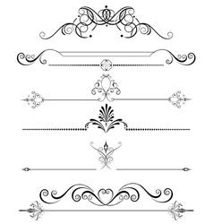 decoration for the page vector image