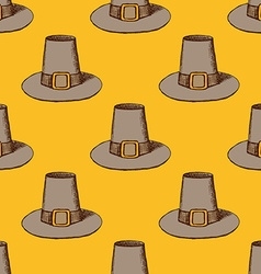 Sketch thanksgiving hat vector