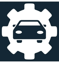 Automobile service icon vector