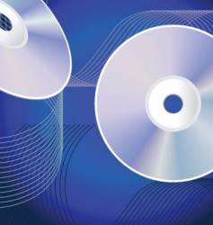 cd background vector image