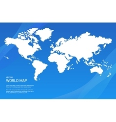 background with world map vector image vector image