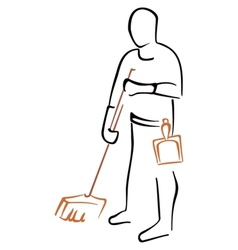 Cleaning symbol vector image vector image
