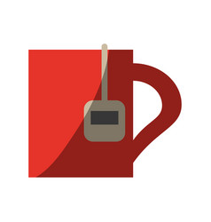 Cup of tea icon image vector