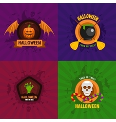 Halloween Celebration Concepts vector image