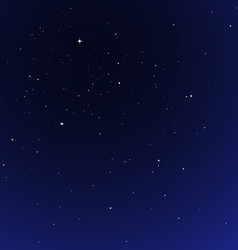 Night star sky cosmos vector