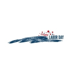 Labor day banner vector