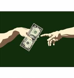 Creation of adam dollar vector