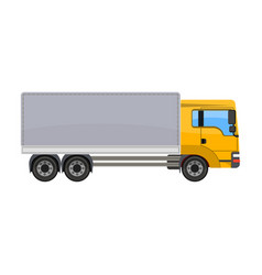 Freight car single icon in cartoon style for vector