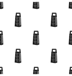 Grater icon in black style isolated on white vector image vector image