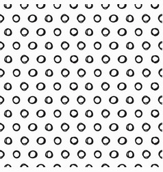 Trendy seamless pattern with brush strokes vector