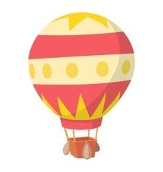 Baloon icon cartoon style vector